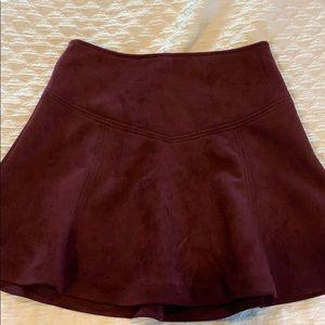 Jack by BB Dakota suede skirt